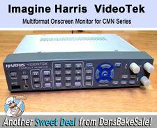 Harris Imagine Videotek CMN-MV-3GB Multiformat Onscreen Monitor for CMN Series