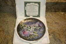 Moonlight Repose Plate by Mimi Jobe with Coa-Kingdom of Enchantment Collection