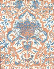William Morris, Arts & Crafts Repro Wallpaper THISTLE 2