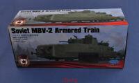 Hobbyboss 1/35 85514 Soviet MBV-2 Armored Train (Late F-34 Gun) Model Kit Hot