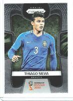 2014 Panini Prizm World Cup #108 Thiago Silva-Brasil//Brésil-Base Carte