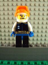Lego Minifig ~ Ice Planet Chief Astronaut w/Helmet & Visor Vintage/Classic #qxz