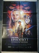STAR WARS EP 1 Manifesto Film 2F Poster Originale Cinema 100x140 MINACCIA