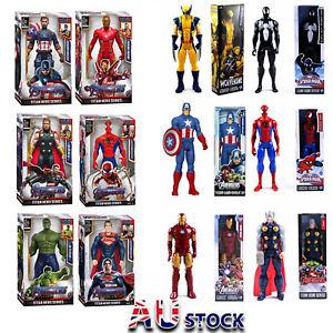 12 inch Marvel Avengers Action Figures Hulk Hero Series Gloves Toys Kids Gifts