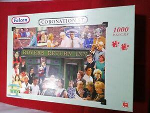 FALCON DE LUXE 1000 PIECE Jigsaw Puzzle - Coronation St. Rovers Return Inn