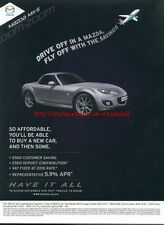 "Mazda MX-5 ""Have It All"" Car 2011 Magazine Advert #2144"