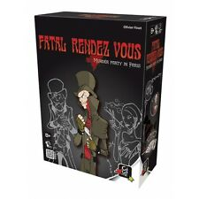 NEW Gigamic FATAL RENDEZ VOUS - Murder Party in Paris - Board Game Strategy Game
