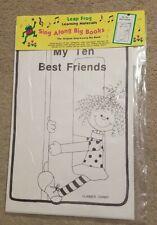 New Leap Frog Teacher My Ten Best Friends Sing Along Big Song Cards