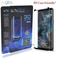 NUGLAS Tempered Glass Screen Protector Samsung Galaxy S9 S8 Plus note 8