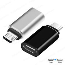 USB 3.1 Type C Female to Micro USB Male Charging Charger Adapter Cable Converter