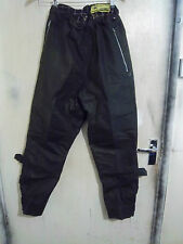 VINTAGE 40'S BARBOUR A76 INTERNATIONAL WAXED MOTORCYCLE TROUSERS SIZE 28-34