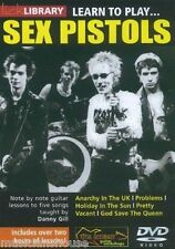 Lick Library Learn To Play Sex Pistols Guitarra Eléctrica Dvd Pretty Vacant Punk