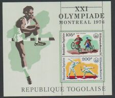 Togo - 1976, Olympic Games, Montreal sheet - MNH - SG MS1150