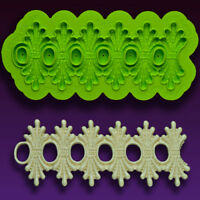 Karen Lace Silicone Fondant Mold by Marvelous Molds