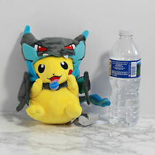 US Seller Birthday Gift Idea Pokemon Go X Charizard Hat Pikachu Plush Toy Doll 9