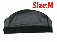 Arena Japanese Mesh Swim Cap (Wig cap) Black ARN13 Made in JAPAN Size Medium