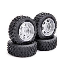 4 PCS 1/10 RC Car 12mm Hex 1:10 Rally Rubber Tires Wheel Rim 11083 For HSP HPI