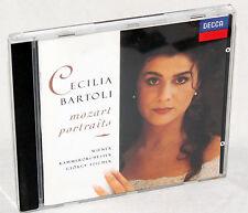CD CECILIA BARTOLI - mozart portraits - Wiener Kammerorchester / György Fischer