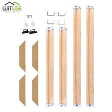 DIY Sturdy Frame Wood Bar Stretcher Strip For Canvas Prints Gallery Wall Art C1