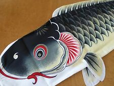 "47""L(120cm) Koi Nobori Carp Windsock Koinobori Fish Kite Flag Hanging Wall Decor"