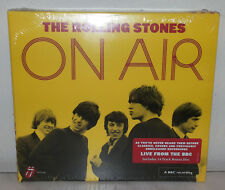 2 CD ROLLING STONES - ON AIR - DELUXE - NUOVO NEW