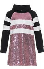 -40% MONNALISA Paillettenkleid Gr. 8Y/128 pink Panther~NEW~Wi 19/20~NP 135€