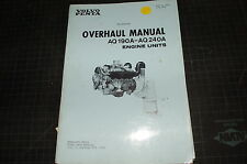 VOLVO PENTA AQ190A 240A Diesel Engine Service Manual repair shop marine overhaul