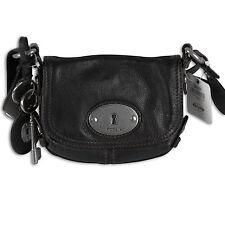 Fossil Handtasche Maddox Small Flap Schultertasche Ledertasche Damen Tasche