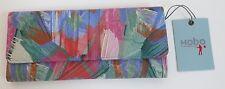 Hobo International Sadie Trifold Wallet Artist Brush Multi-Color Leather NWT