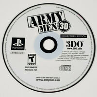 Army Men 3D: Collector's Edition (Sony Playstation 1 PS1) - Disc Only, Tested