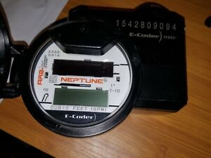 """Neptune ARB T-10 Water Meter with R900i E-Coder.1"""" R900 v4"""