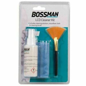 Bossman LCD Cleaner Kit  Keyboard Mouse LCD TV Screen Electronics Cleaning Kit