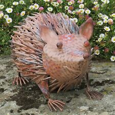 Metal Hedgehog Ornament Home Or Garden Decorative Metal Hedgehog