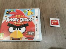 Angry Birds Trilogy (Nintendo 3DS, 2012) tested working