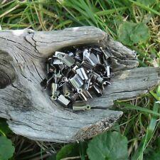 Lot de 200 Embout a sertir pour cordon 12 mm (Hématite)