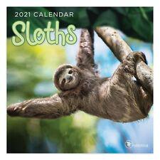 2021 Sloths Mini Calendar