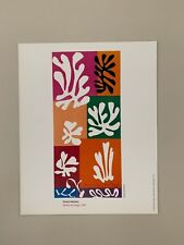 MATISSE,'FLOWERS OF SNOW,1951' RARE AUTHENTIC 1994 ART PRINT