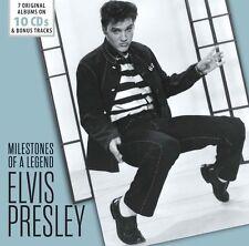 ELVIS PRESLEY 'MILESTONES OF A LEGEND' 10 CD BOX SET (2016)