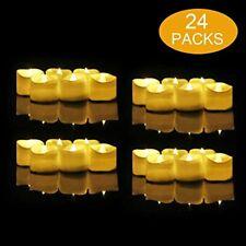 24 Velas Led Pequeñas, flintronic ® Velas Led de Té Velas Eléctricas con Bat