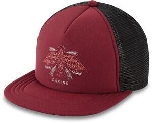 Dakine Vesper Trucker Snapback Cap Womens Dark Rose Black New 2021 Hat