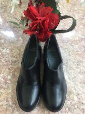New Dansko Women's 'Bayley Kidskin' black leather loafers/ shoes US 8.5-9 /EU 39