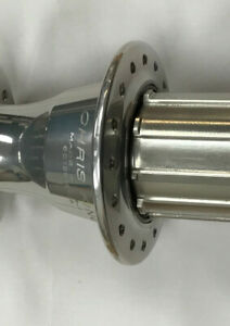 **FITMENT MARKS** Chris King R45 Road Bike Rear Hub Silver 32H Shimano Freehub