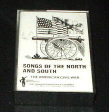 Songs of the North and South AMERICAN CIVIL WAR  CASSETTE TAPE