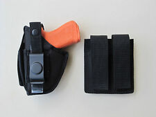 """Holster Mag Pouch Combo for WALTHER P22 3.4"""" WITH LASER"""