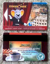 carte cle hotel europa park (utilisée)