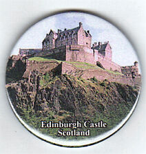 EDINBURGH CASTLE IN THE DAY - FRIDGE MAGNET BRAND NEW