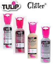 Tulip Glitter 3D dimensional fabric paint 37ml - * same p+p any quantity