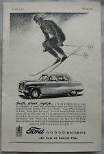1952 Ford Zephyr-Six Original advert