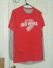 Detroit Red Wings NHL Fanatics Brand Long Sleeve T-Shirt New Men's Large MNWT