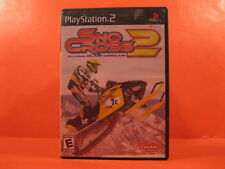 DVD - PLAYSTATION 2 - SNO CROSS 2 - FREE SHIPPING
